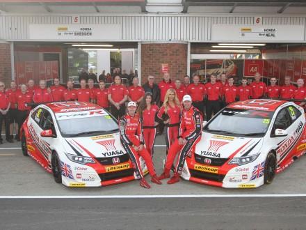 Honda wins BTCC drivers and manufacturers championships