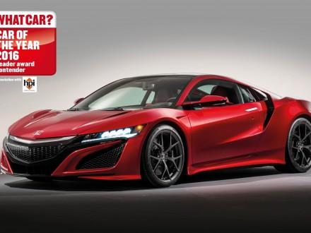 NSX shortlisted for 2016 What Car? Reader Award